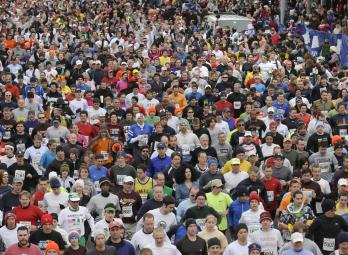 A selection of photos from the 2010 Manchester Road Race. 15,000 registered runners participated in the 74th annual running of the Thanksgiving Day classic.